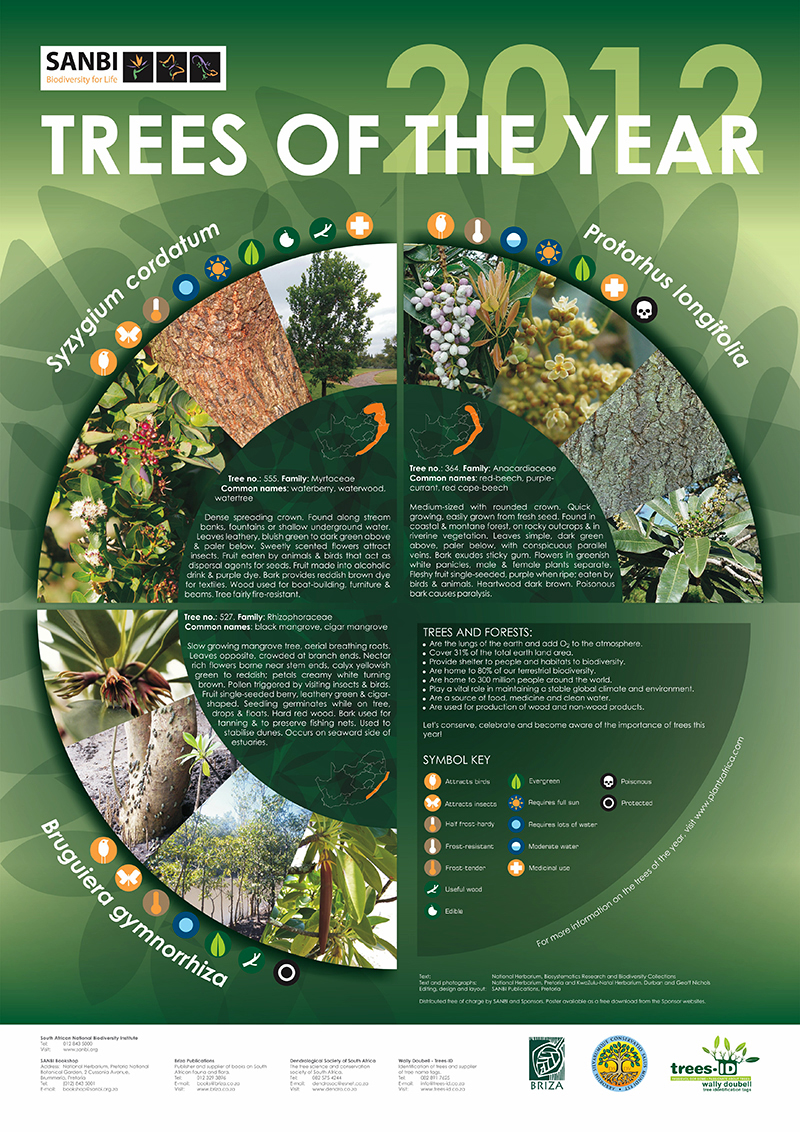 The Year S Of Living Non: Trees Of The Year Posters